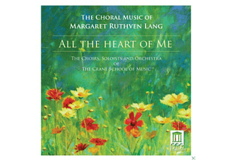 Crane School Of Music - All The Heart Of Me - (CD)