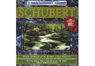 VARIOUS - Schubert-Trout Quintet & Piano - (CD)