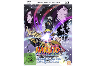 Naruto The Movie – Geheimmission im Land des ewigen Schnees - (Blu-ray + DVD)