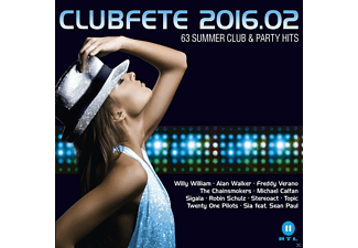 VARIOUS - Clubfete 2016.02 - 63 Summer Club & Party Hits - (CD)