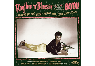 VARIOUS - Rhythm N Bluesin By The Bayou-Nights Of Sin,Dir [CD]