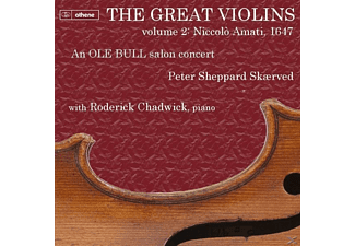 Peter Sheppard-skaerved - Great Violins Vol.2: Niccolo Amati 1647 [CD]