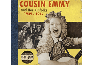 Cousin Emmy - Cousin Emmy And Her Kinfolks 1939-1947 - (CD)