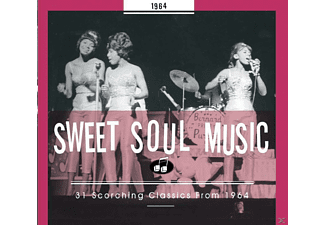 VARIOUS - Sweet Soul Music 1964 - (CD)