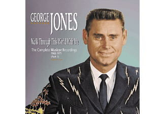 George Jones - Walk Through This World With Mecomplete Musicor Recordings 1 - (CD)