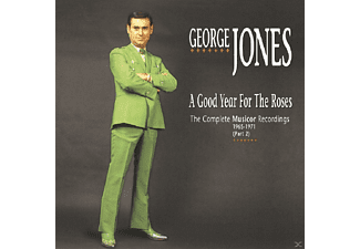 George Jones - A Good Year For The Roses - (CD)