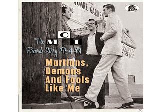 VARIOUS - Martians, Demons And Fools Like Me-The Mci Rec. - (CD)