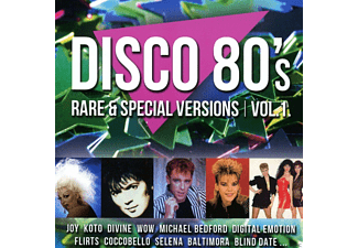 VARIOUS - Disco 80s Rare & Special Versions Vol.1 - (CD)