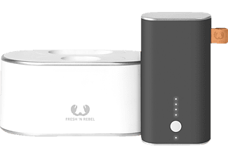 FRESH 'N REBEL Powerbank Charging Station + 1 Powerbank