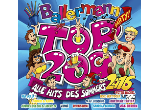 VARIOUS - Ballermann Top 200-Alle Hits Des Sommers 2016 - (CD)