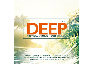 VARIOUS - Deep Vol.2-Tropical & Vocal House Sounds - (CD)