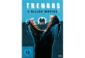 Tremors 1-4 - (DVD)