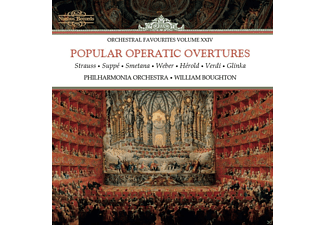 William Boughton, The Philharmonia Orchestra - Popular Operatic Overtures [CD]