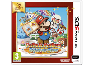 Nintendo Paper Mario Sticker Star
