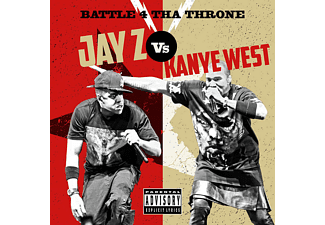 Jay-z Vs Kanye West - Battle 4 Tha Throne - (CD)