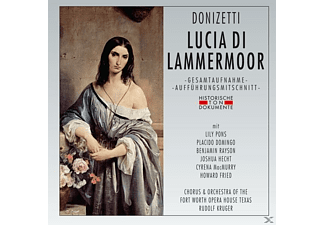 Chorus & Orchestra Of The Fort Worth Opera House T - Lucia Di Lammermoor - (CD)