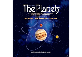 Rick Wakeman, Jeff Wayne, Kevin Peek - Beyond The Planets - (CD)