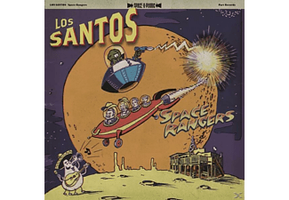 Los Santos - Space Rangers - (CD)
