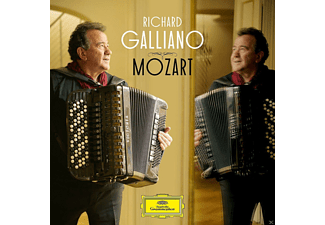 Richard Galliano - Richard Galliano Plays Mozart - (CD)