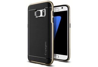 555CS20202 Backcover Samsung Galaxy S7 Thermoplastisches Polyurethan/Polycarbonat Gold