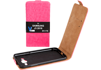 V-DESIGN DV 176, Flip Cover, Galaxy J3 (2016), Pink
