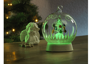 KONSTSMIDE Led-glasbol kerstboom