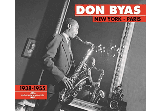 Don Byas - New York-Paris 1938-1955 - (CD)