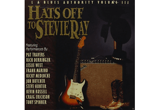 VARIOUS - Hat's Off To Stevie Ray - (CD)