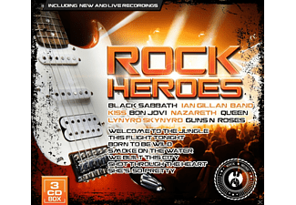 VARIOUS - Rock Heroes [CD]