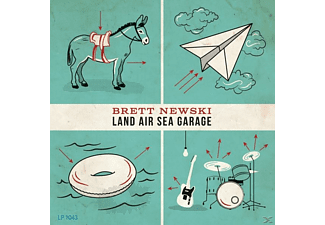 Brett Newski - Land Sea Air Garage - (CD)