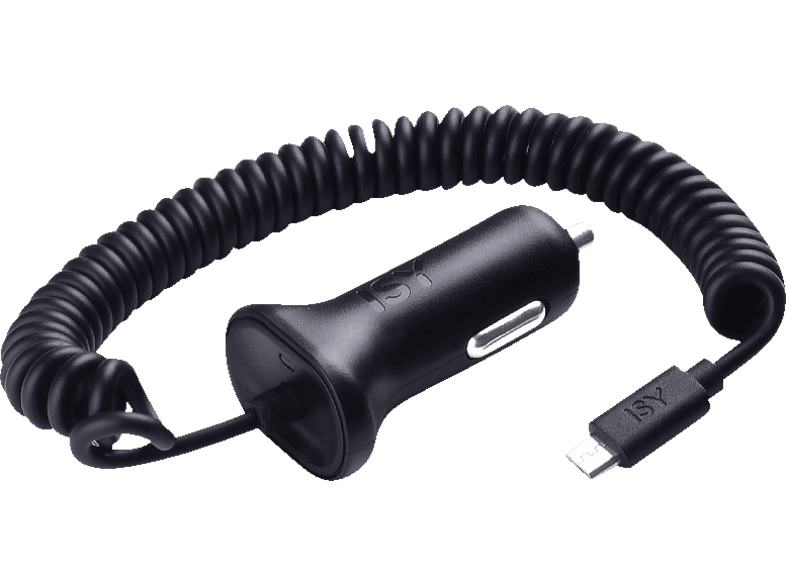 ISY Car Quick Charger with Micro USB 2.0A - ICC 3500  τηλεφωνία   πλοήγηση   offline αξεσουάρ κινητής computing   tablets   offline α