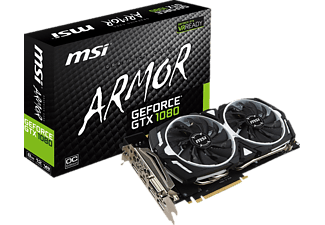 MSI GeForce® GTX 1080 ARMOR 8G OC (NVIDIA,  8 GB,  PCI Express)
