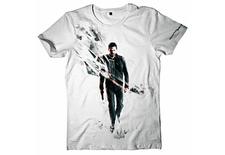 Quantum Break T-Shirt -S- Box Art, weiss