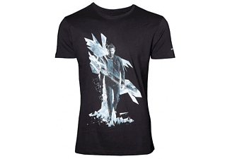 Quantum Break T-Shirt -L- Box Art, schwarz