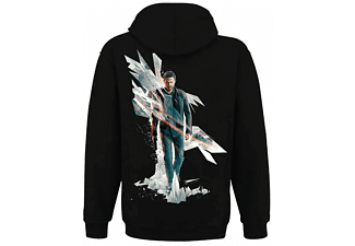 Quantum Break Hoodie -M- Box Art, schwarz