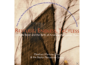 Meehan, Perkins Duo, The Baylor Percussion Group - Restless,Endless,Tactless - (CD)