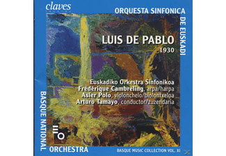 Bask.Nationalorchester - Luis de Pablo (1930) - (CD)