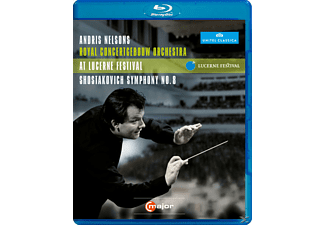 Andris Nelsons, Nelsons/Royal Concertgebouw Orch., Andris/cgo Nelsons - Sinfonie 8/Rienzi Ouvertüre [Blu-ray]