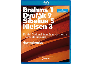 Dausgaard/Danish National SO - 4 Sinfonien - (Blu-ray)