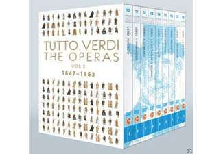 Tutto Verdi, VARIOUS - Tutto Verdi Operas Vol.2 - (Blu-ray)