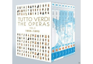 Tutto Verdi, VARIOUS - Tutto Verdi Operas Vol.3 - (Blu-ray)