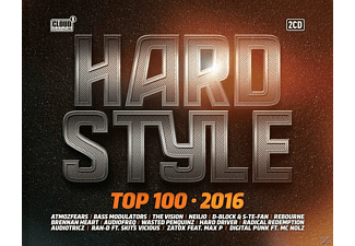 VARIOUS - Hardstyle Top 100-2016 - (CD)