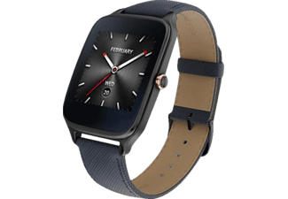ASUS  ZenWatch 2 Smart Watch, Grau/Blau