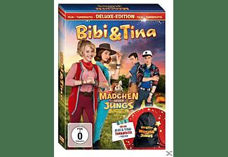 bibi tina 3 m dchen gegen jungs deluxe edition mit dvd. Black Bedroom Furniture Sets. Home Design Ideas