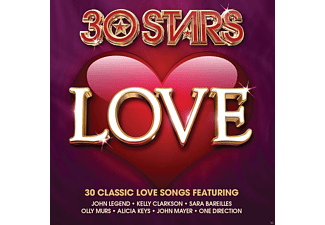 VARIOUS - 30 Stars: Love - (CD)