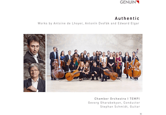 Stephan Schmidt, Chamber Orchestra I Tempi - Authentic - (CD)