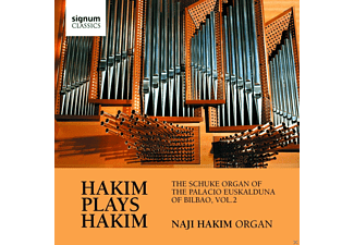 Naji (orgel) Hakim - Hakim plays Hakim - (CD)