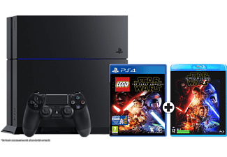 SONY PlayStation 4 1 TB + LEGO Star Wars The Force Awakens + Blu-ray Star Wars The Force Awakens