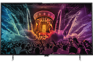 PHILIPS 43PUS6101/12, 108 cm (43 Zoll), UHD 4K, SMART TV, LED TV, DVB-T2 HD, DVB-C, DVB-S, DVB-S2