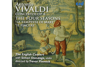 The English Concert, Simon Standage, Trevor Pinnock - Vivaldi:4 Jahreszeiten/Pinnock - (CD)